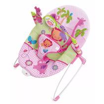 Cadeira Bouncer Para Bebês Vibratória Leão Pink - Weeler