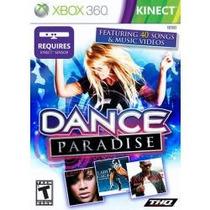 Jogo Dance Paradise Xbox 360 Americano Lacrado Para Kinect