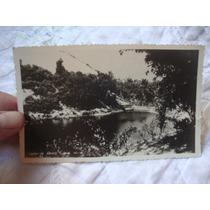 Cartão Postal Antigo Lagoa Abaete Ba