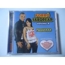 Cd Forró Saborear Vol.4 - Original - Frete Gratis
