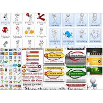 Súper Mega Paquete De Gráficos Para Crear Paginas Web