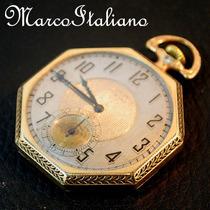 Antigo Relógio De Luxo - Elgin Deluxe - Ano 1925, Funciona!!