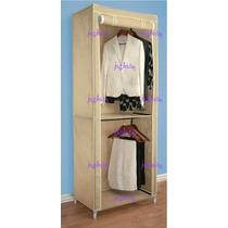 Closet Armable Doble Colgador Puerta Enrollable Crr