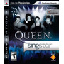Jogo Singstar Queen Original E Lacrado Pra Playstation 3 Ps3