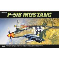 Avião P-51b Mustang Academy Kit Tipo Revell E Tamiya 1/72