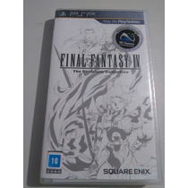 Final Fantasy Iv The Complete Collection Psp Novo Lacrado!