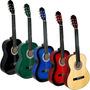 Guitarra Acustica Clasica Variedad De Colores Regalo D-carlo