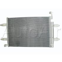 Conjunto Radiador Condensador E Eletroventilador Gol G5 Novo