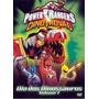 Dvd Power Rangers Dino Trovão - Dia Dos Dinossauros - Vol. 1