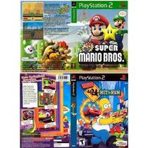 Jogos Games Ps2 Ben 10 Serie Infantil