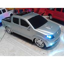 Mini Carro Com Som Hilux Executive