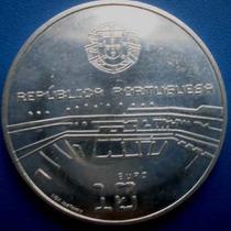 Portugal-moeda Prata 10 Euros-copa 2006-alemanha-40 Mm.-