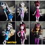 Vestido Para Boneca Monster High : Roupa Original + Brinde