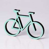 Adorno Bicicleta Clásica A Colores Souvenir Deco Biblioteca