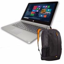 Notebook Intel Ken Brown Iris 4gb Ram Multitouch + Mochila
