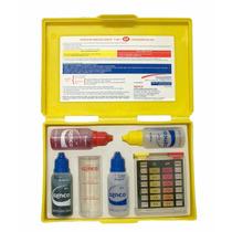 Estojo De Teste Genco Kit 3 Em 1 Ph, Alcalinidade E Cloro