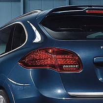 Calaveras Led Ahumadas Para Porsche Cayenne 2011 - 2014