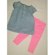 Set Camisola + Calza Carters Nena
