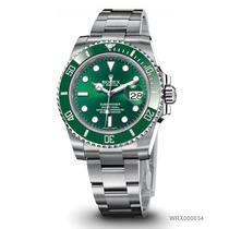 Relogio Top Automatico Luxo Aço Verde Cx - Sedex Gratis 781