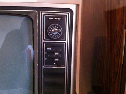 Tv philco ford 1980 intacta r em mercado livre - Television anos 70 ...
