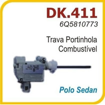 Atuador Trava Eletrica Portinhola Tanque Vw Polo Sedan 411