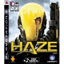 Jogo Lacrado Haze De Tiro Exclusivo Para Playstation 3