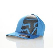 Gorra Fox Racing Navigate Azul Flexfit Talla L/xl !!!