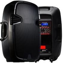 Duo Bafle Tri Amplificado 15 +microfono 6000w Ecualizadorusb