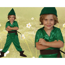 Disfraz Duende Verde Solo Talle 3- Jugueteria Minijuegos!