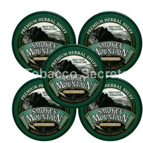 Smokey Mountain Tabaco 5 Latas - Wintergreen - Libre De Taba