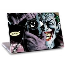 Skin Adesivo Notebook Desenho Batman Coringa Tv Skdi2669