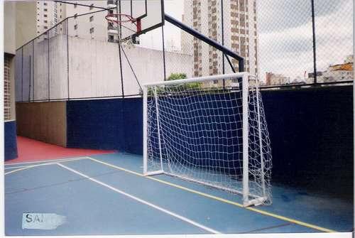 c0158f5bb0 Rede De Futsal Oficial Fio 4 M m C  Nf Gol Traves - R  135