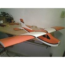 Kit De Cessna 182 Avião Treinador Em Isopor Mais Resistente