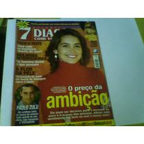 Revista 7 Dias Com Você Nº30 Dez03 Cláudia Abreu