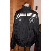 Casaca Deportiva Adidas Original Hombre Color Negro Talla L