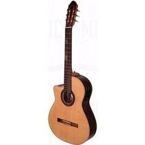Guitarra C/ Corte Y Eq Fonseca 40kec Zurdo Argentmusic