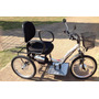 Triciclo Elétrico Deluxe Cadeira Almofadada 350 Watts 36 V