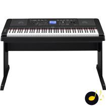 Piano Digital Yamaha Dgx660 Preto