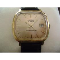 Antiguo E Impecable Reloj Steelco Automático. Vintage 70´s.