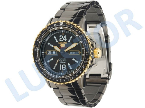 7e23412191c Relógio Seiko 5 4r36at 1 Sports Automático 24 Jewels Masc. - R  829 ...