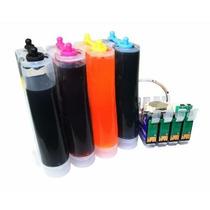 Bulk Ink Epson Tx235w Tx320f Tx430w +400ml Tinta Inkbank