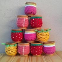 Mate Con Funda A Crochet