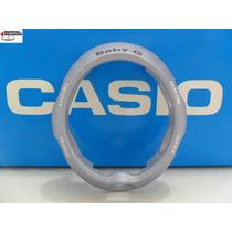 Capa Bezel Casio Bgx-200 Baby-g Azul Claro Metalico