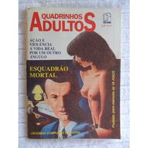 Quadrinhos Adultos Nº 1! Desenhos De Brasileiros! Press!