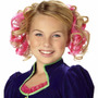 Rosa Pelo Rizado Peines Accesorio De Halloween Adolescente