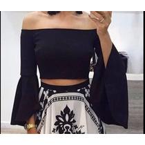 Blusas De Mujer Campesinas De Moda Todos Los Colores 060