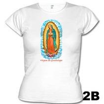 Camisetas Católicas Virgem De Guadalupe 602