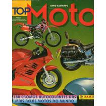 Álbum De Figurinhas-top Moto- Incompleto Editora Panini