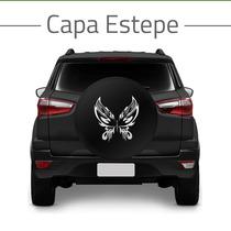 Capa Estepe Modelo Borboleta Tribal Crossfox Eco Sport Doblo