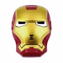 Máscara Homem De Ferro Com Luz Led Fantasia Infantil